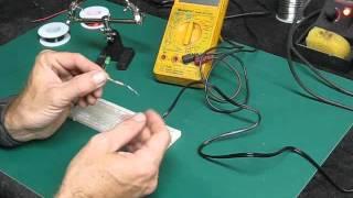 Star Trek Model Ship Wiring and LED Lighting How To Basic