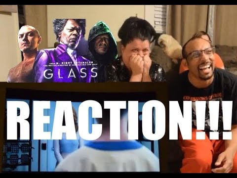 Glass Official Trailer - REACTION!!!