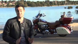 Indian Roadmaster video review