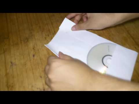 How To Easily CD Or DVD With Paper DIY