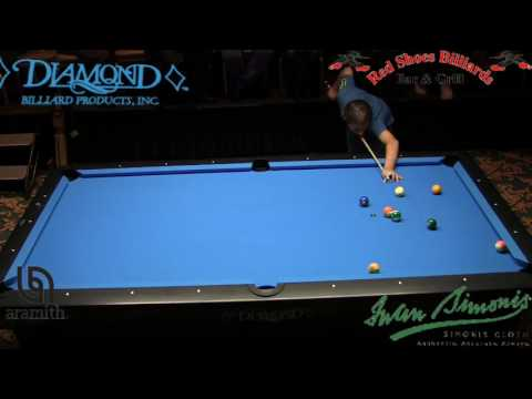 Mika Immonen Dennis Orcullo Straight Pool Match to 125