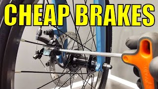 How To Improve Cheap, Mechanical, OΝE Piston Disc Brakes For More Braking Power. Single Actuation.
