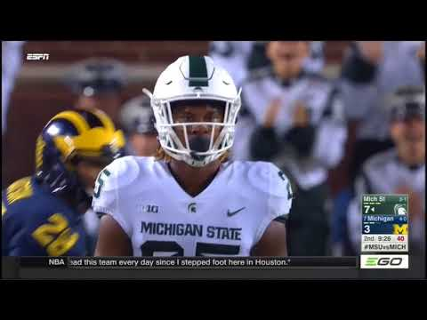 2017 - Michigan State Spartans at Michigan Wolverines in 40