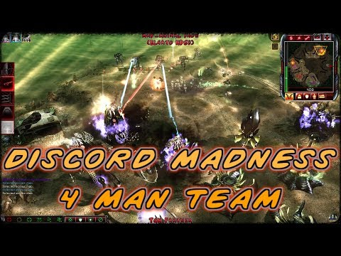 (discord-madness-4-man-team)-c&c-kane's-wrath-4vs4-nod,mok,black-hand,gdi-vs-random's-#166-4k
