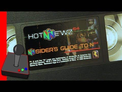 Nintendo VHS Promo Restoration! Hot Newz 64 - Nsiders Guide to N64 - H4G