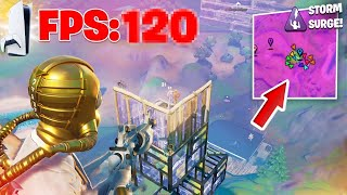 I Tested The *PS5 120FPS UPDATE* iฑ Console Endgames (PS5 Fortnite Competitive FPS Test)