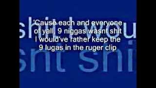 9MM Akon ft. Lil wayne Ft. David Banner Ft. Snoop Dog (Lyrics)