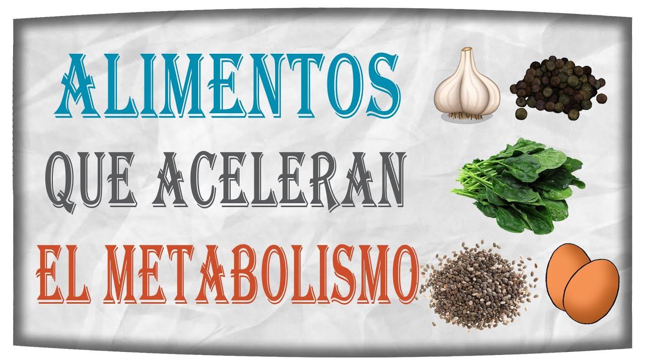 Agrega hoy mismo estos alimentos a tu dieta para acelerar el metabolismo youtube - Alimentos que tienen fibra ...