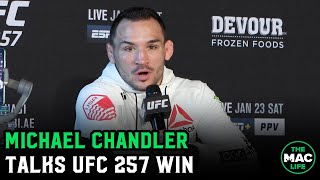 "Michael Chandler: ""Conor McGregor will dust himself off and come back"""