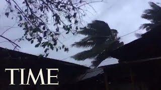 Typhoon Yutu Batters Nothern Philippines | TIME