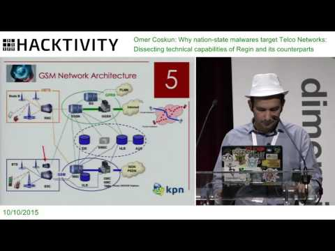 Omer Coskun – Why nation-state malwares target Telco Networks: Regin and its counterparts