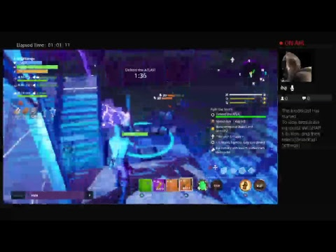 Fortnite with friends/ Stream with Eden Games