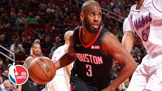 Chris Paul notches 25 points, 10 dimes for double-double   Timberwolves vs. Rockets   NBA Highlights
