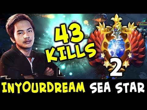 WTF 43 kills TOP-2 RANK — SEA star InYourDream