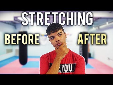 Should You Stretch Before Or After A Workout?