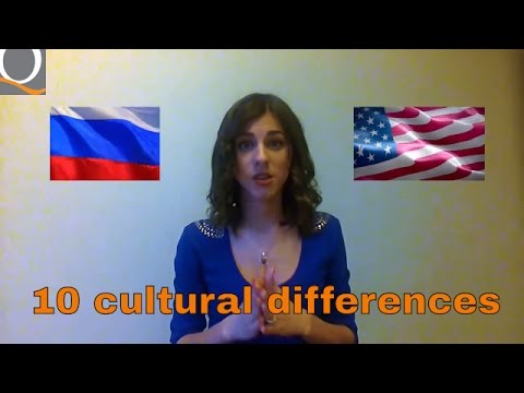 Americans Vs Russians - Cultural differences between Russia and USA