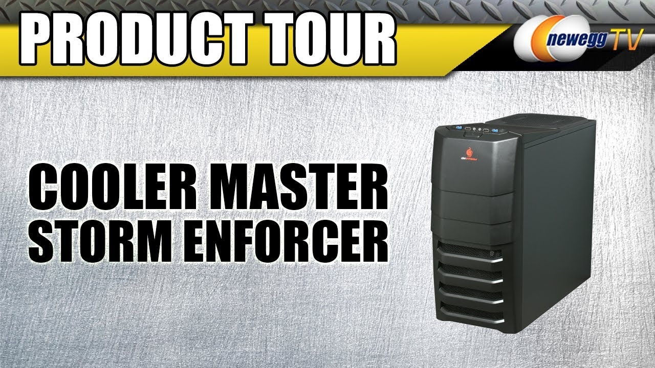 newegg tv cooler master storm enforcer pc case product tour youtube. Black Bedroom Furniture Sets. Home Design Ideas