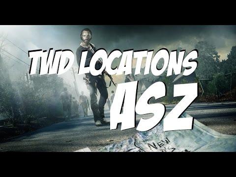 The Walking Dead Locations | Season 5 Alexandria Safe Zone Footage