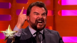 Jack Black Wrote the Jumanji Theme Song with Nick Jonas | The Graham Norton Show