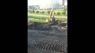 caterpillar 325cl excavator and d6n lgp d6k lgp dozers with gps