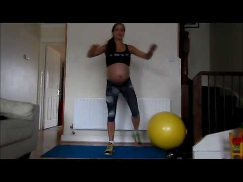 Cardio Workout / Cardio during pregnancy  by be MOM be FIT