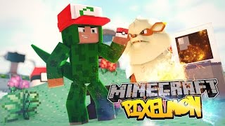 Minecraft Pixelmon - DEFEATING NEW GYMS! #18