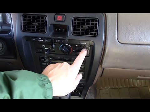 1999 Toyota 4Runner 3rd Gen - Climate Control Light Replacement