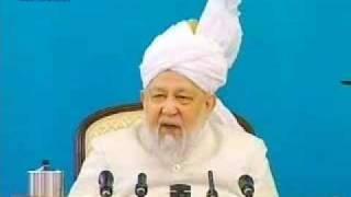 Hadhrat Mirza Tahir Ahmad's Last Friday Sermon 1/5 Ahmadiyya Islam Pakistan