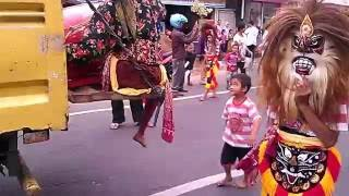 Karnaval Salatiga Agustus 2016 - Kesenian Reog