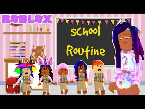 Roblox Mom of 5 RUDE Daughters School Morning  Routine! (Roblox Roleplay)