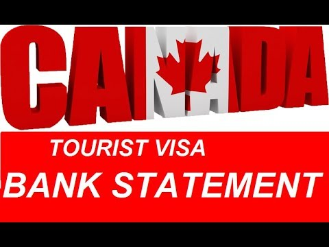 How Much Bank Statement Required For Canada And Schengen Tourist Visa