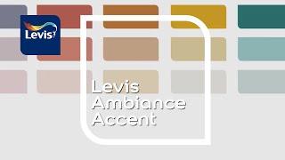 La palette Levis Ambiance Accent : fraîche et audacieuse