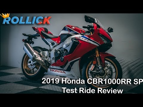 2019 Honda CBR1000RR SP Test Ride Review [EXPENSIVE]