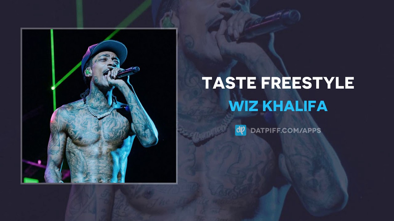 Wiz Khalifa - Taste Freestyle (AUDIO)