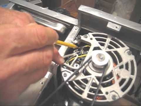 Changing A Norwalk Juicer Ge Motor From 220 230v Back To