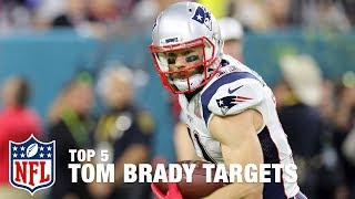 Tom Brady's Top 5 Targets of All Time | Good Morning Football | NFL Network