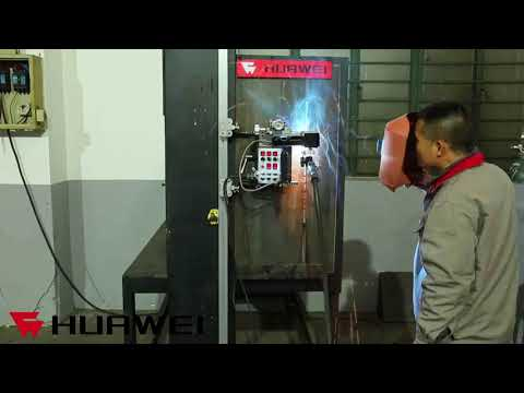 Shanghai Huawei Factory Price HK-7W-F Automatic Oscillating Welding Carriage DEMO For Different Weld