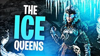 THE ICE QUEENS.. & NICK! (ft. Nickmercs,Marcel & SypherPK) | Fortnite Battle Royale Highlights #136
