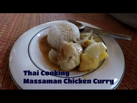 Thai Cooking – Massaman Chicken Curry
