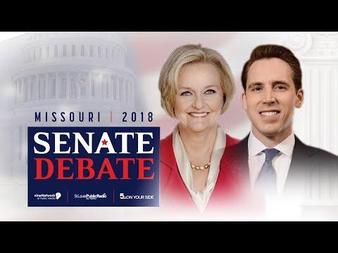 Missouri U.S. Senate Debate   October 18, 2018