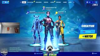 First Official Fortnite Stream By The Gotcha Club