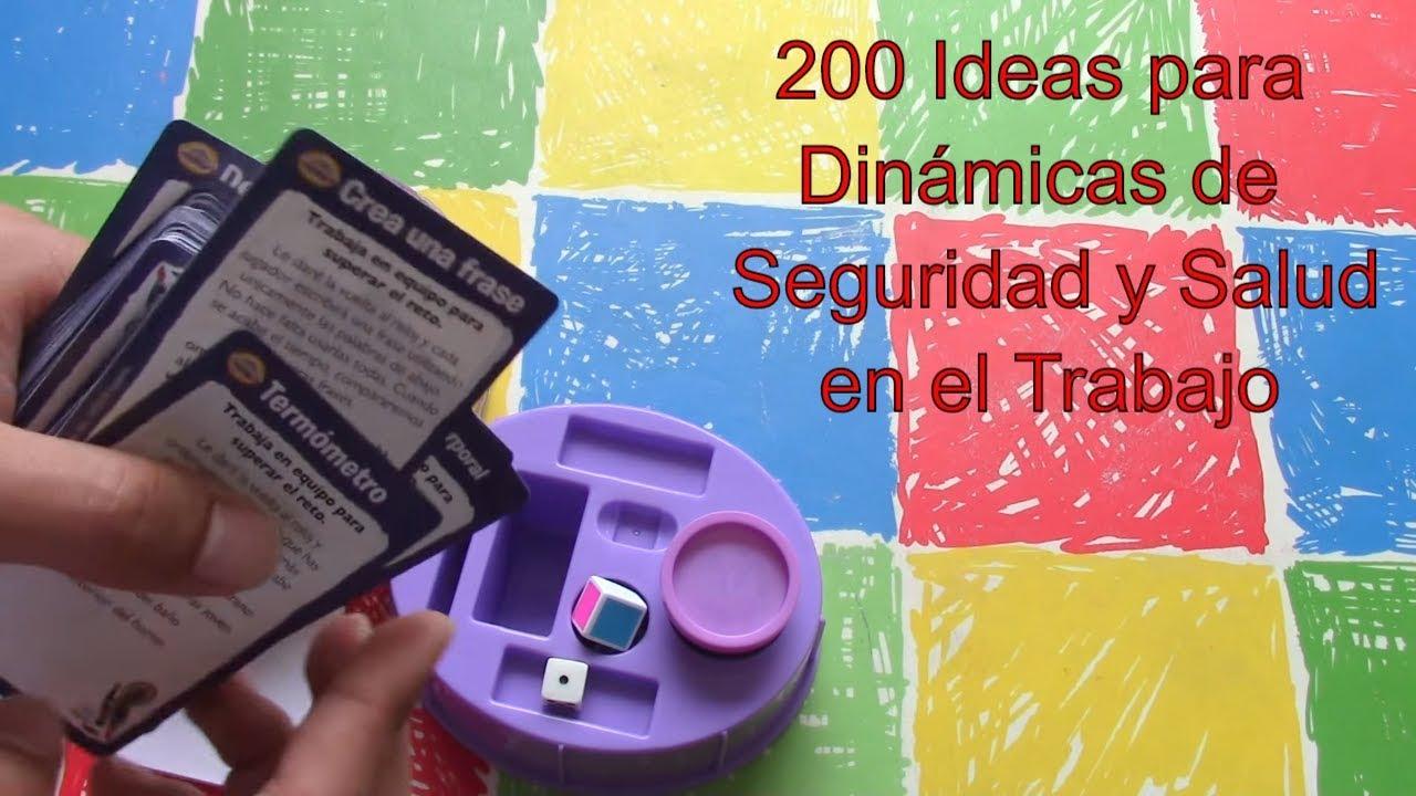 200 Ideas Para Dinámicas De Seguridad Y Salud En El Trabajo