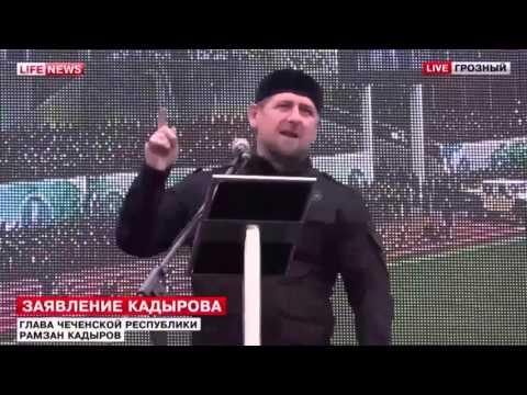 Ramzan Kadyrov - Glory to Russia and Putin!