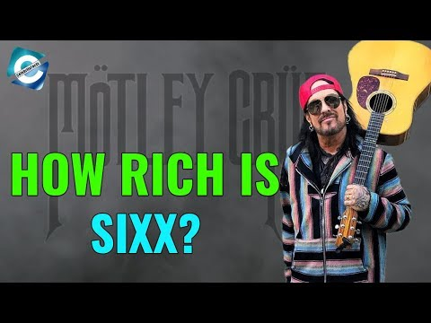 Motley Crew bassist Nikki Sixx Net Worth 2018 | Books, Songs and More