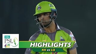 Karachi Kings vs Lahore Qalandars | Highlights | Pakistan Super League 2021 | 28th Feb, 2021