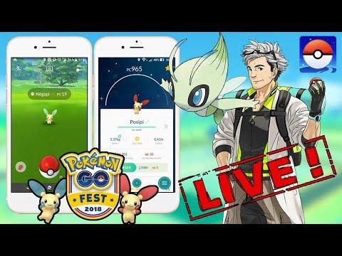 Safari Zone Posipi Negapi Shiny Alola En Folie En Live Pokemon Go Partie 1