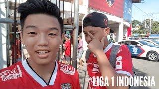 BALI UNITED vs PERSIPURA JAYAPURA   Liga 1 VLOG 2017