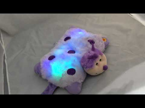 Bright Light Animal Pillow Pets : Kids Toy Cuddly Animal Cuddle Pet Glow Pillow Cushion Calm Mood Lights - YouTube
