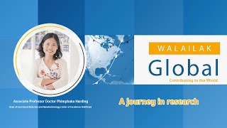 Walailak Global Contributing to The World: A journey in research