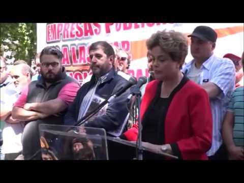 Presidenta Dilma Acto Pit Cnt